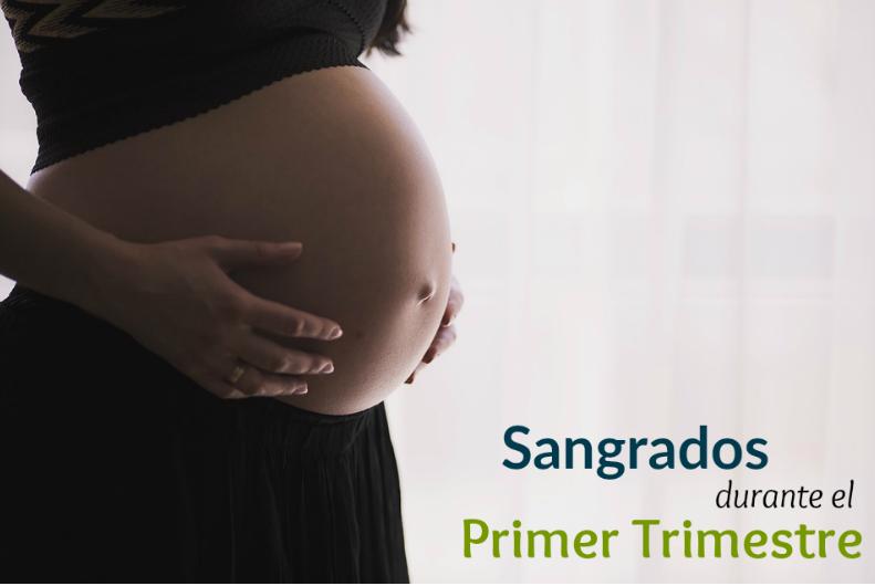 pequeño sangrado primer trimestre embarazo