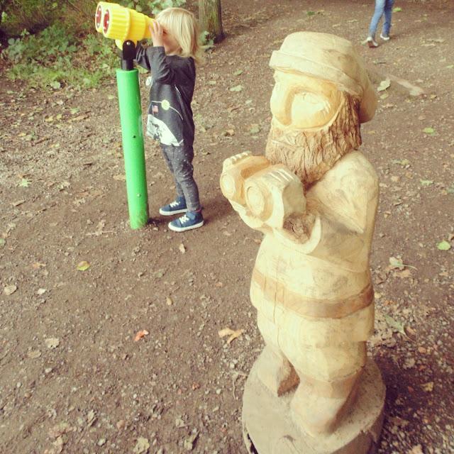 Statue with binoculars,  Newmillerdam