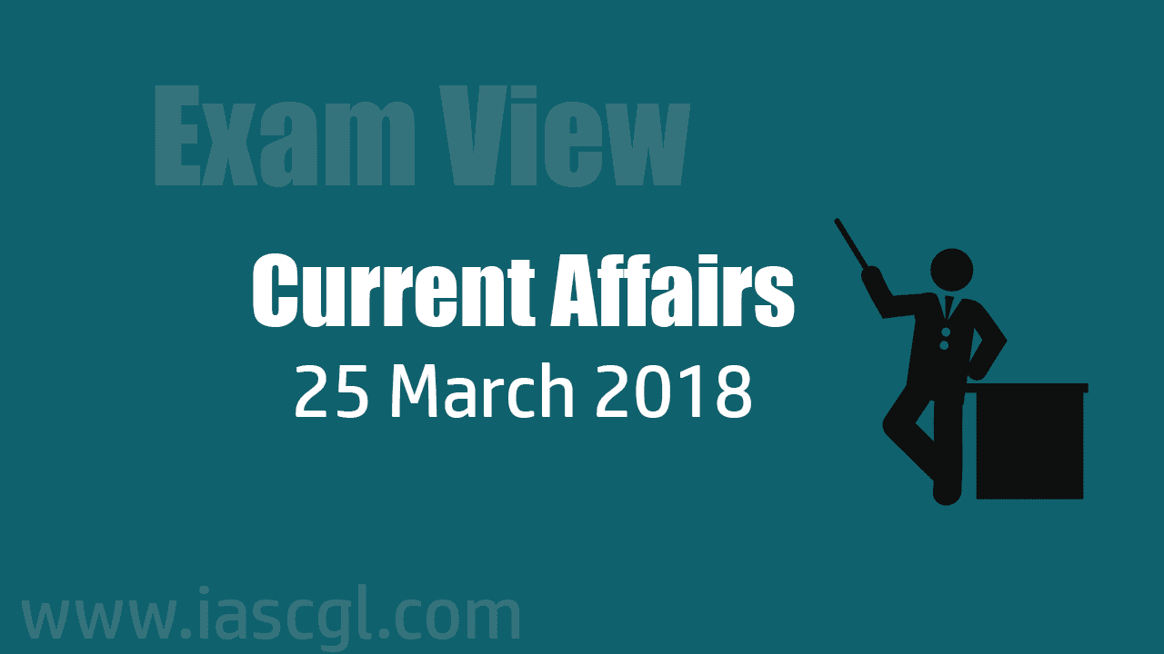 Current Affair 25 march 2018