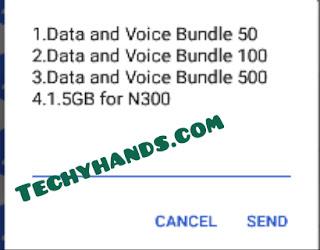 MTN My Offer Data Plan