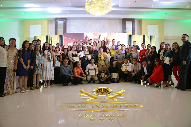 Department of Tourism-12 recognizes tourism stakeholders in SOX Tourism Star Awards 2018
