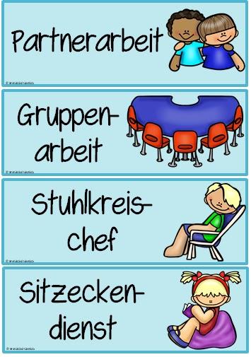 Ordnungsdienst klassenzimmer  Grundschul-Ideenbox: August 2017