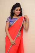 tejaswini sizzling photos in saree-thumbnail-3