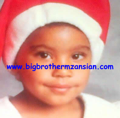 Mbali Nkosi As A young Girl Photo Big Brother Mzansi