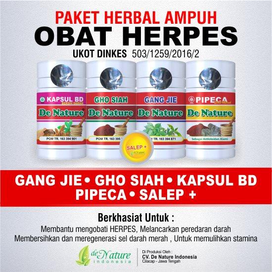 pengobatan herpes alami