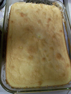 Lemon sponge cake, from an 1857 recipe.