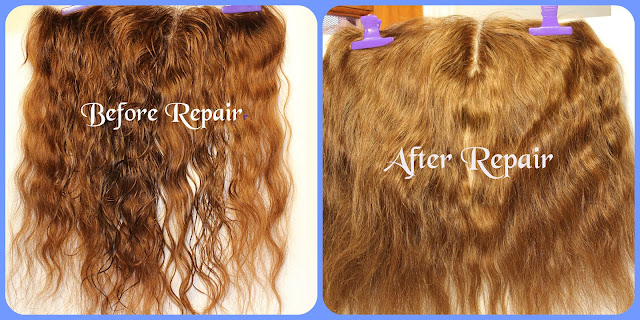 Lace Frontal Repair