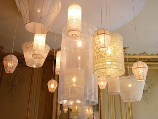 Lámparas de encaje
