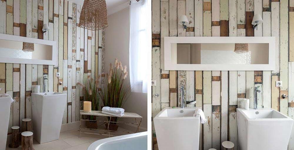 Decotips decorar con paneles de madera s o no - Decorar paredes con madera ...