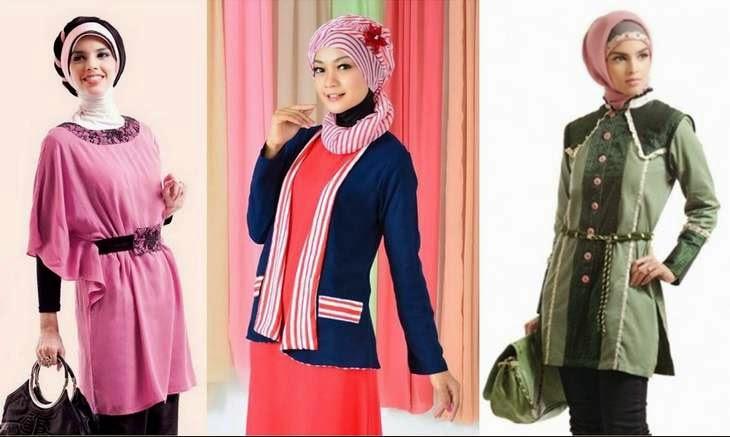 Contoh baju muslim remaja untuk acara formal