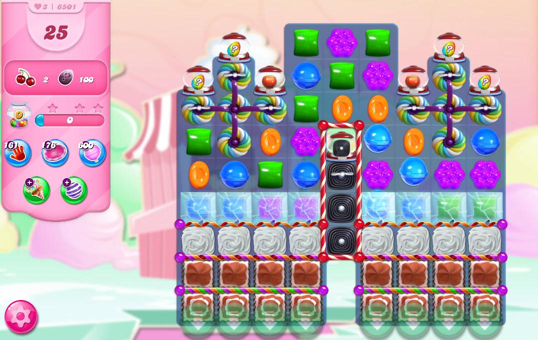 Candy Crush Saga level 6501