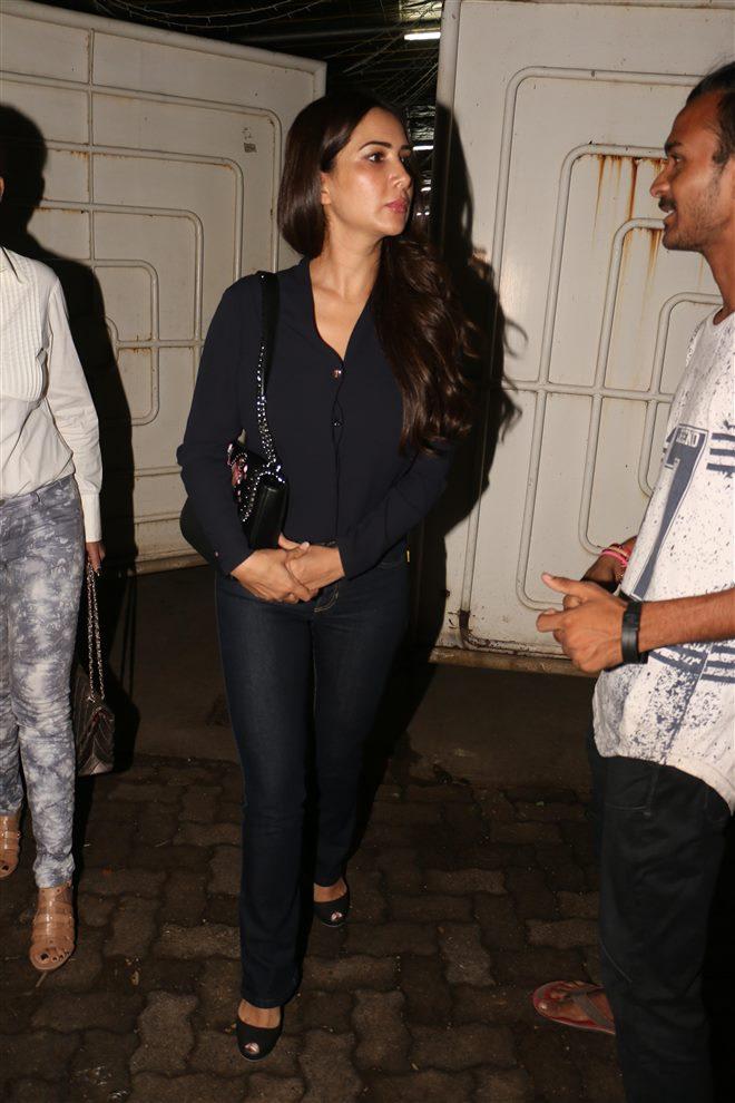 Haseena Parkar Special Screening At Sunny Super Sound In Mumbai