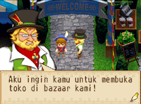 Harvest Moon Grand Bazaar Bahasa Indonesia Android