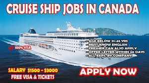 Canada Cruise Ship Job Recruitment is Ongoing – Jobs in Canada