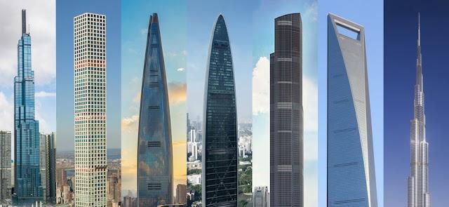 Cùng nhau ngắm nhìn danh sách 20 tòa nhà cao nhất thế giới 2019