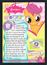 My Little Pony Scootaloo Series 1 Trading Card
