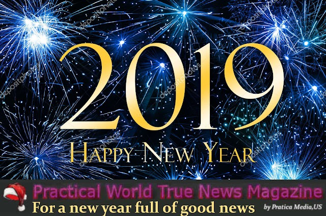 PW Magazine said : ' For a New Year full of Good News ! '