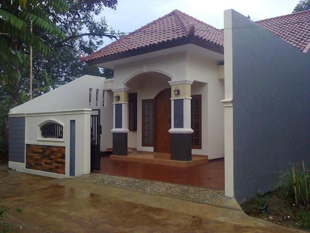 rumah sederhana model kampung