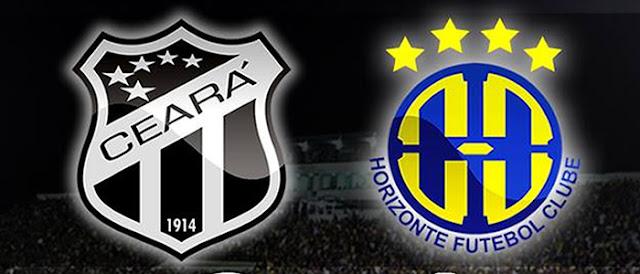 Horizonte vence o Ceará e está nas quartas de finais da Taça Fares Lopes.