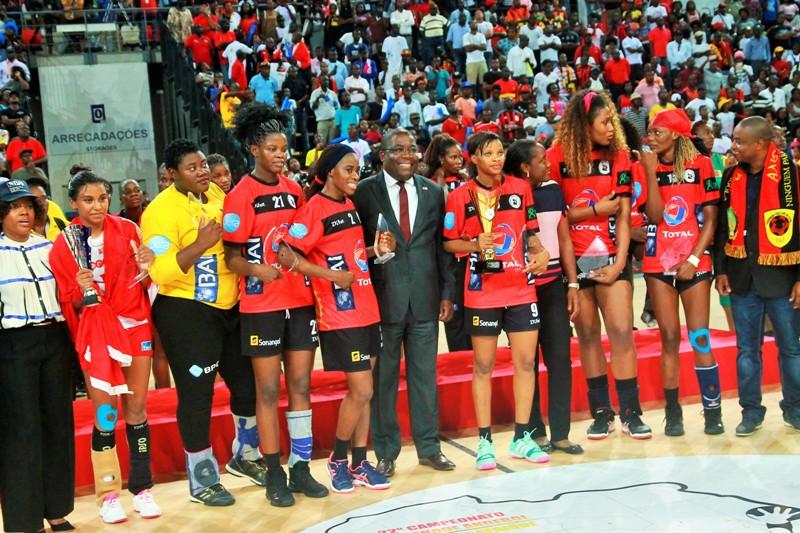 Angola campeón africano femenino