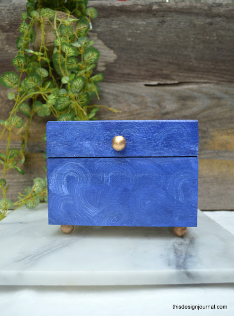Marbled Recipe Box