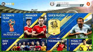 FIFA 14 MOD FIFA 18 World Cup Russia 2018 Edition Android Offline