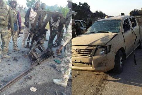 boko haram nigerian army gunfight