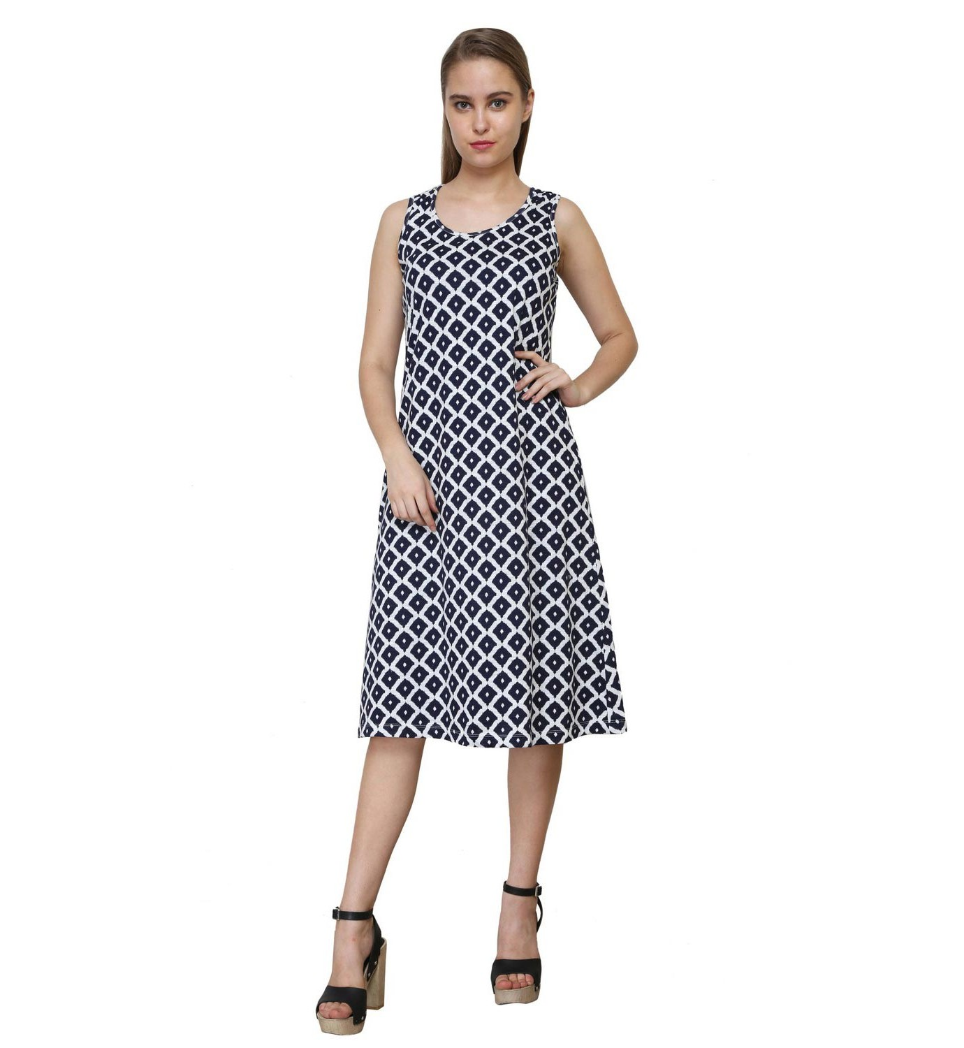 Buy Night to Class Out: Geometric Print Dress pictures trends