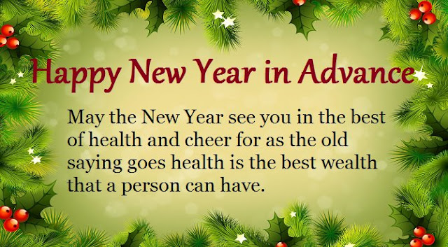 Advance Happy New Year 2018 Wishes Animated GIF Images