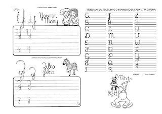Caligrafia para imprimir e caderno de caligrafia - Atividade Caligrafia - 14