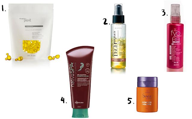 Os melhores produtos de cabelo de até R$39 para comprar no catálogo das revendedoras