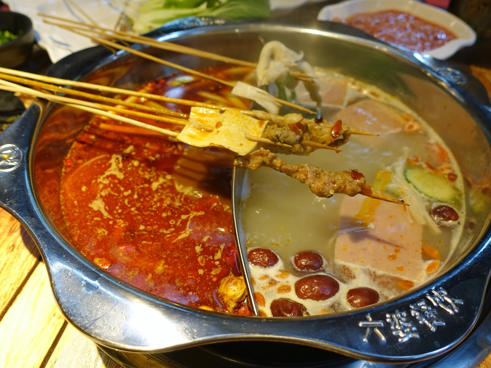 Hot Cuisine Soft Opening First Day Visit To Six Po Hot Pot The