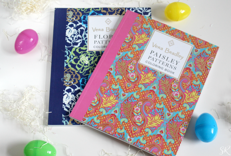 a picture of Vera Bradley coloring books