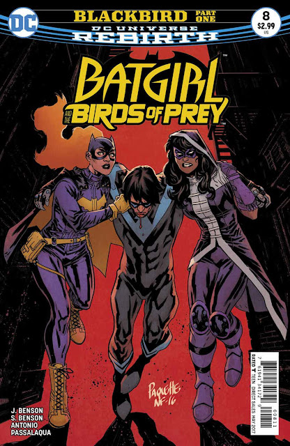 BATGIRL AND THE BIRDS OF PREY 8