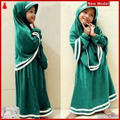 FHGS9066 Model Syari Anak Hanifa, Muslim Tosca Pakaian Anak BMG