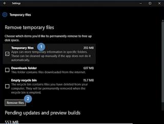 Cara Menghapus File Temporary di Windows 10
