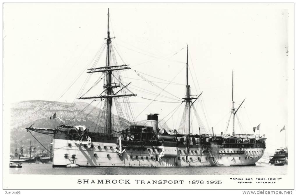 marcophilie daniel  transport shamrock