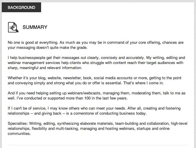 Resume Writing Tips Top 5 Best Linkedin Summaries