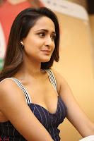 Pragya Jaiswal in Deep neck Gown at Launch of OPPO Phone 010.JPG