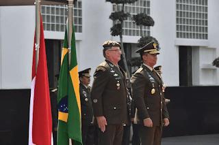 Pertemuan Kasad dengan Panglima AD Brasil