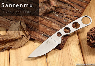 Sanrenmu 7130 FUF-SF fixed blade neck knife