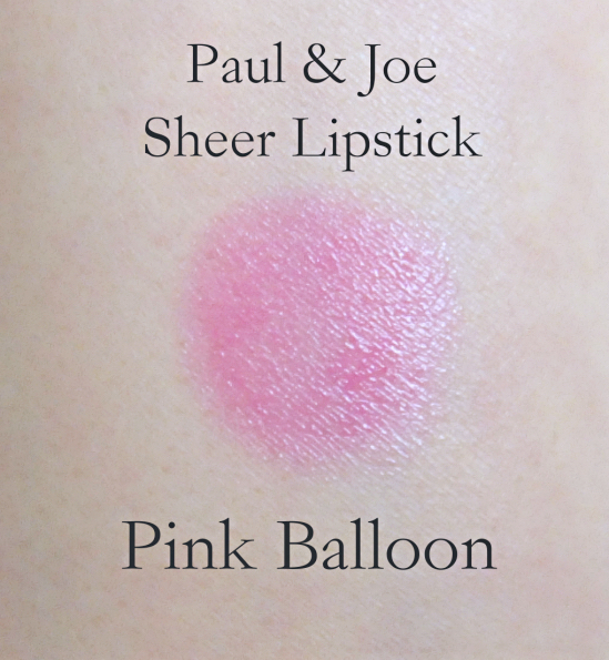 Paul & Joe Lipstick #108 Pink Balloon swatch