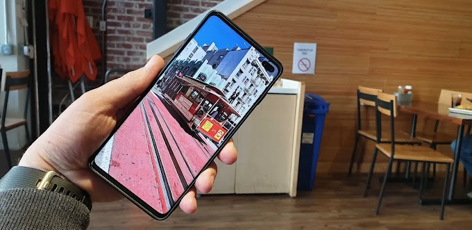 Galaxy S10 Has An Option To Hide The Front Camera Cutout