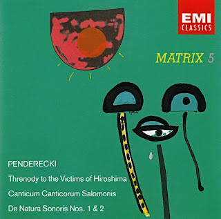 Krzysztof Penderecki, Threnody to the Victims of Hiroshima / Canticum Canticorum Salomonis / De Natura Sonoris Nos. 1 and 2, EMI Matrix