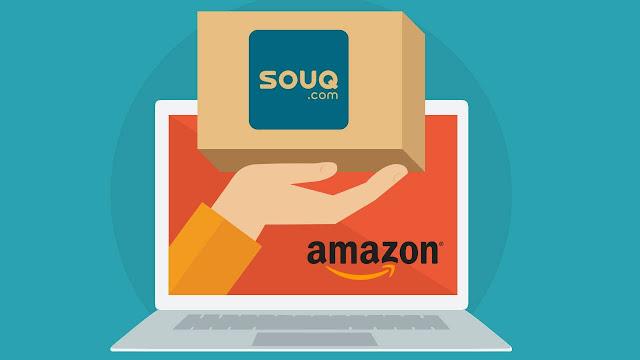 Amazon s'empare de Souq.com à 750 millions de dollars.
