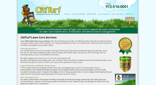reputable lawn care company in Texas