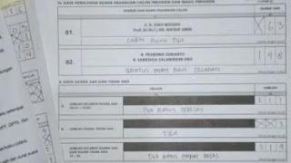 Lagi, Suara Prabowo Dicurangin Di TPS Depok 148 Ditulis 3
