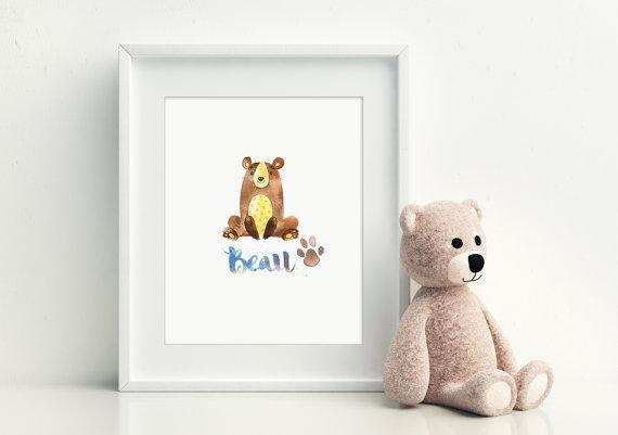Francine's Bear Print