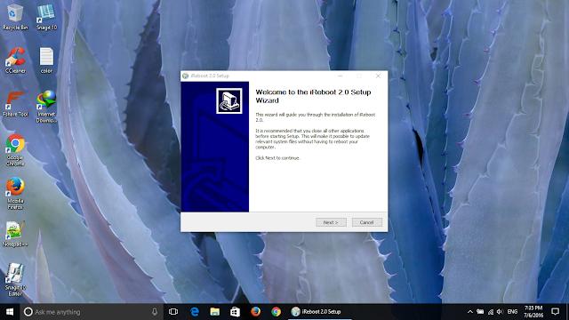 iReboot 2.0 giải pháp khởi động dual boot cho Windows 10