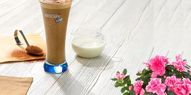 ev yapımı nescafe soğuk kahve kakaolu